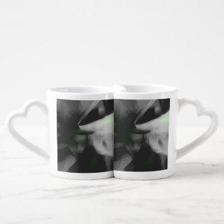 Negative Feelings Pastel Abstract Couples Coffee Mug