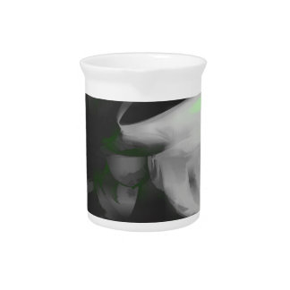 Negative Feelings Pastel Abstract Beverage Pitchers