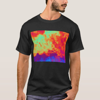 Negative Fiery Cirrocumulus undulatus and Indiglo T-Shirt