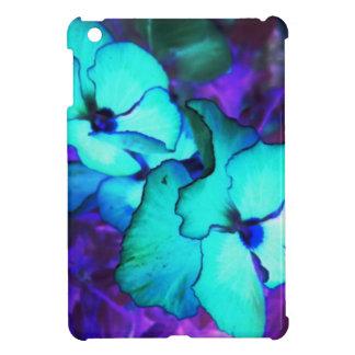 Negative Flower iPad Mini Cases