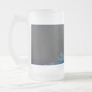 Negative Frosted Beer Stein