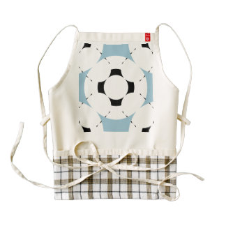 Negative Gamepad Zazzle HEART Apron
