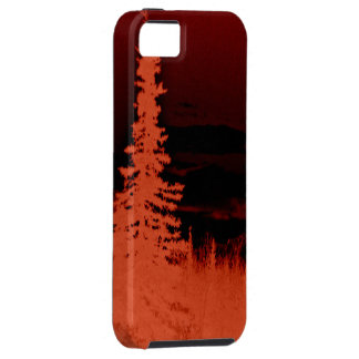 Negative Image Camouflage Forest and Mountain Case