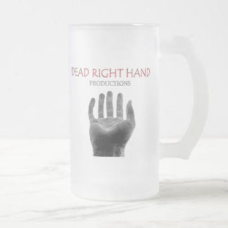 Negative Logo Beer / Frosted Glass Beer Mug