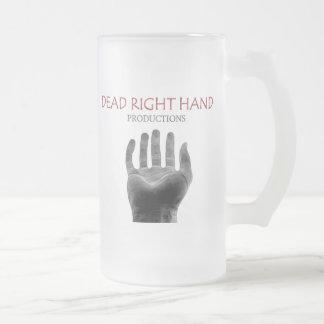 Negative Logo Beer / Frosted Glass Beer Mug