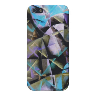 Negative of Giacomo Balla's Abstract Speed + Sound Case For iPhone 5