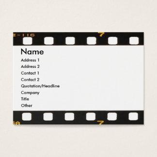 Negative Profile Card