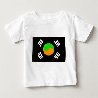 Negative South Korean Flag Tee Shirt