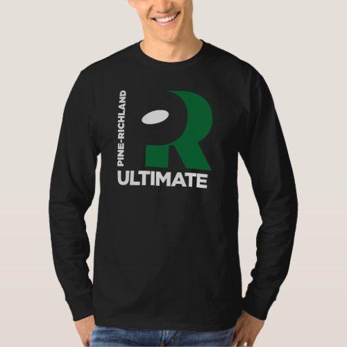Negative Space Art on Dark T_Shirt