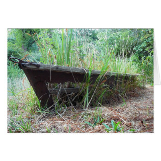 Neglected boat card