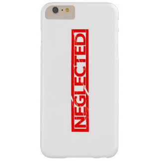 Neglected Stamp Barely There iPhone 6 Plus Case
