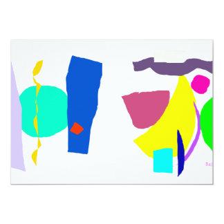 Negociaciones felices invitación 12,7 x 17,8 cm