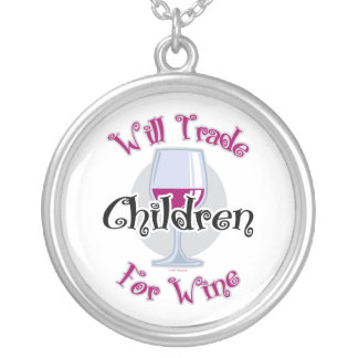 Negociará a los niños para el vino colgante redondo