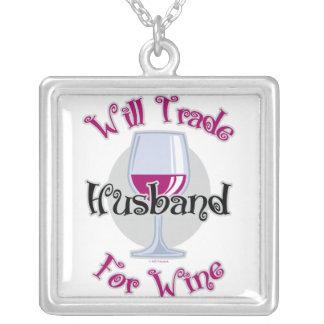 Negociará al marido para el vino colgante cuadrado