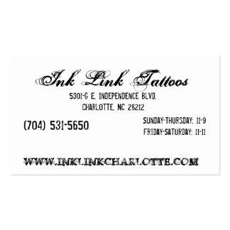 Negocio Card2 del vínculo de la tinta Tarjetas De Visita