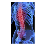 Negocio Card3 del Chiropractor Plantilla De Tarjeta De Visita