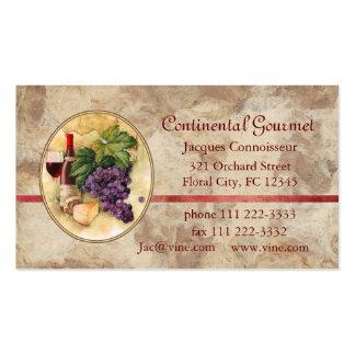 Negocio de abastecimiento plantilla de tarjeta personal