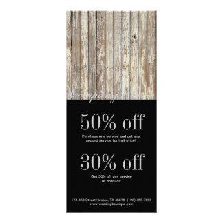 negocio de construcción de madera del grano del pa diseño de tarjeta publicitaria