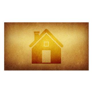 Negocio de construcción empapelado de las propieda tarjetas de negocios