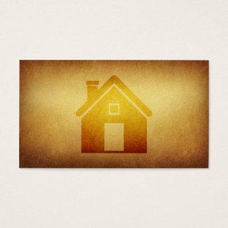Negocio de construcción empapelado de las tarjeta de negocios