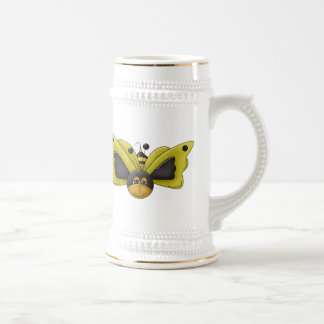 Negocio de la abeja tazas de café