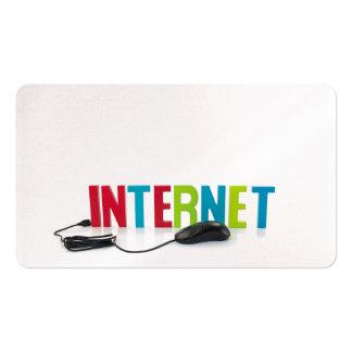 negocio de la ayuda del Internet Tarjetas De Visita