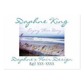 Negocio de la playa - tarjeta del VIP del perfil Tarjetas De Visita Grandes