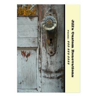 Negocio de la renovación/del remodelado/de la plantillas de tarjeta de negocio