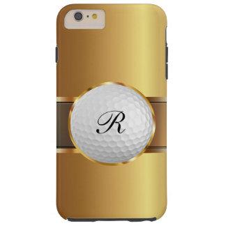 Negocio de lujo del golf de los hombres funda para iPhone 6 plus tough
