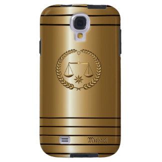 Negocio de oro y galaxia legal S4 C de Samsung del Funda Para Galaxy S4