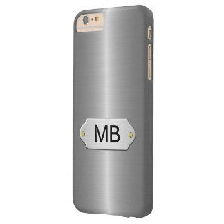 Negocio de plata de lujo funda de iPhone 6 plus barely there