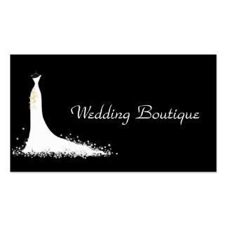 Negocio del boda tarjetas de visita