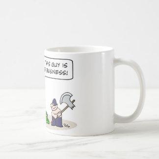 negocio del hacha del verdugo del rey el mejor taza clásica