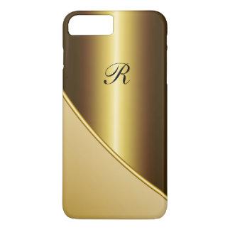 Negocio del oro de los hombres funda iPhone 7 plus
