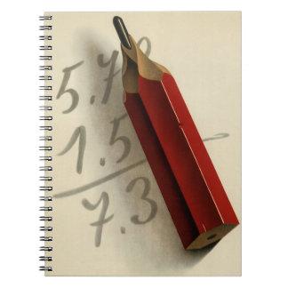 Negocio del vintage, ecuación de la matemáticas libretas