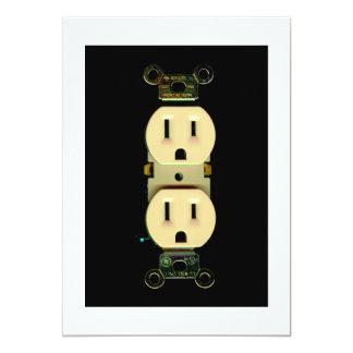 Negocio eléctrico de los electricistas del mercado comunicados personales