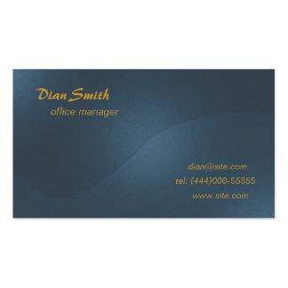 Negocio elegante 2 tarjetas de visita