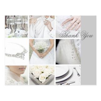 negocio elegante moderno del planificador del boda postales