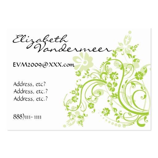 Negocio elegante - tarjeta del perfil por SRF Tarjetas De Visita Grandes