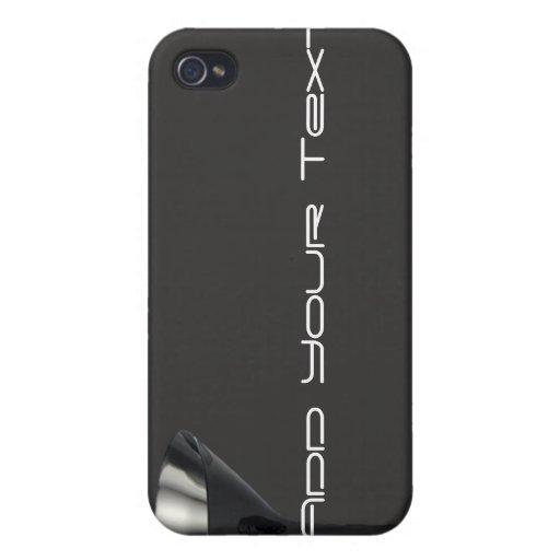 Negocio gris y negro del vidrio de Martini iPhone 4/4S Funda