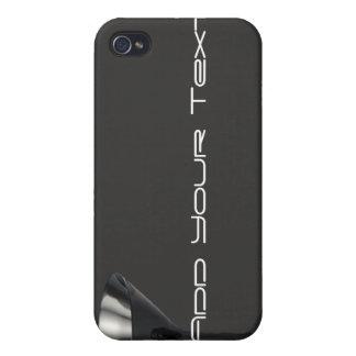 Negocio gris y negro del vidrio de Martini iPhone 4 Carcasas