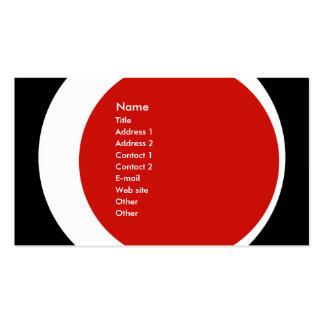 Negocio moderno/tarjeta social del perfil del esta plantillas de tarjetas personales