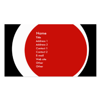 Negocio moderno/tarjeta social del perfil del tarjetas de visita