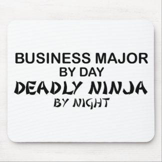 Negocio Ninja mortal importante por noche Mousepads