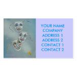 Negocio - tarjeta del perfil - máscaras de la tarjetas de visita