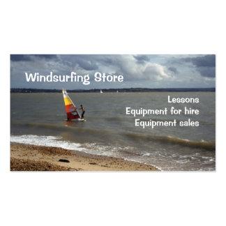 Negocio Windsurfing Plantillas De Tarjetas Personales
