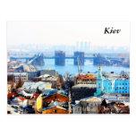Negocio y ciudad industrial, Kiev de Kiev Tarjeta Postal