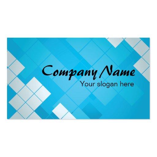 Negocios card - Tarjeta de visita Blue Concepto