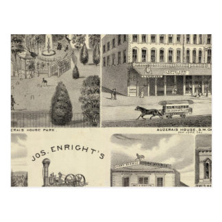 Negocios, San Jose, Santa Clara Tarjetas Postales