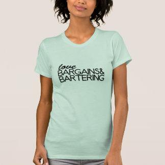 Negocios y trueque del amor camiseta